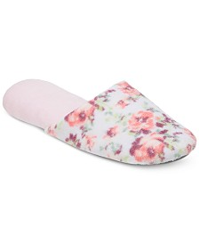 Dearfoams Women's Microfiber Terry Scuff Slipper, Online Only