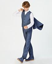 631fbd42 Calvin Klein Big Boys Plain Weave Suit Pants