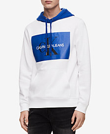 Calvin Klein Jeans Men's Monogram Logo Hoodie Created for Macy's
