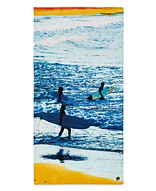Hang Ten Trio Surfers Beach Towel