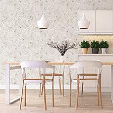 Genenieve Gorder For Tempaper Birchy Barky Self-Adhesive Wallpaper
