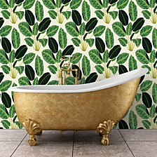 Genenieve Gorder For Hojas Cubanas Self-Adhesive Wallpaper