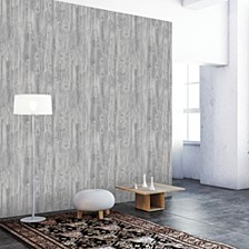 Textured Woodgrain Self-Adhesive Wallpaper
