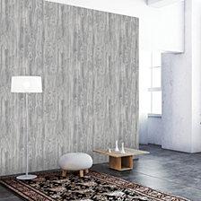Tempaper Textured Woodgrain Self-Adhesive Wallpaper