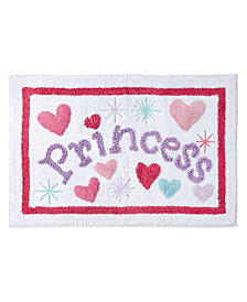 Dream Factory Magical Princess Bath Rug