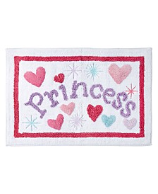 Dream Factory Magical Princess Bath Rug