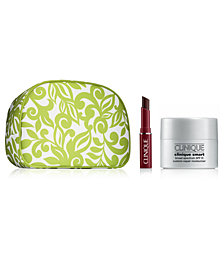 Choose your FREE Deluxe 3 pc gift with $85 Clinique Purchase!