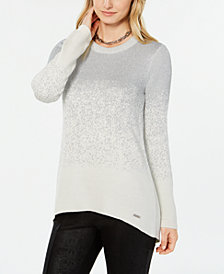 Tommy Hilfiger Metallic-Ombré Sweater, Created for Macy's