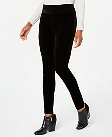 Tommy Hilfiger Velvet Pull-On Pants, Created for Macy's