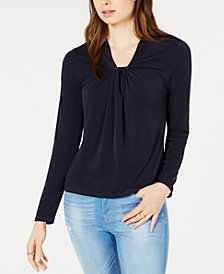 Tommy Hilfiger Twist Detail Top, Created for Macy's