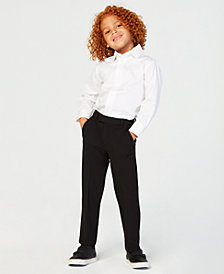 Calvin Klein Little Boys Infinite Stretch Suit Pants