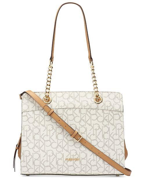 Calvin Klein Signature Hayden Tote Reviews Handbags