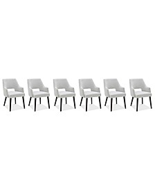 Aspen Dining 6-Pc. Set (6 Host Chairs), Created for Macy's
