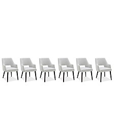 Aspen Dining Furniture, 6-Pc. Set (6 Host Chairs), Created for Macy's