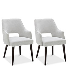 Aspen Dining Furniture, 2-Pc. Set (2 Host Chairs), Created for Macy's