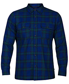 Hurley Men's Dri-FIT Syd Plaid Shirt