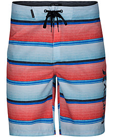 Hurley Men's Baja Striped Board Shorts