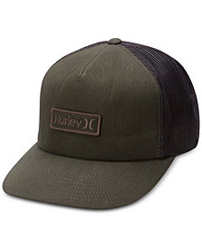 Hurley Men's Waxed Logo Cap