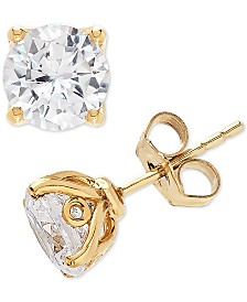 Lab Grown Diamond Stud Earrings (2 ct. t.w.) in 14k Gold or White Gold