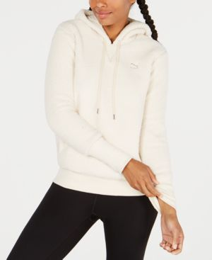 Downtown Sherpa Hoodie, White