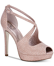 Adrianna Papell Rosalie Platform Evening Sandals