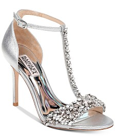 Badgley Mischka Veil High Heel Sandals