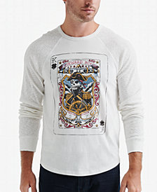 Lucky Brand Men's Captain Card Graphic T-Shirt