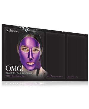 Omg! Platinum Purple Facial Mask