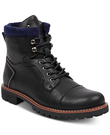 Tommy Hilfiger Men's Evins Cap-Toe Boots, Created for Macy's