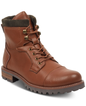 220a736cd5db4f Tommy Hilfiger Men S Evins Cap-Toe Boots