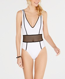 Kenneth Cole Find Tranquility One-Piece Swimsuit