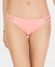 SUNDAZED Stunner Strappy Bikini Bottoms