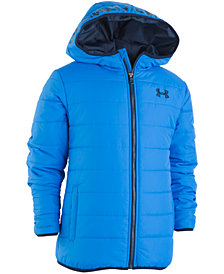 Under Armour Big Boys Pronto Hooded Puffer Jacket