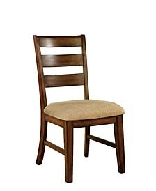 Nessa Antique Oak Dining Chair (Set of 2)