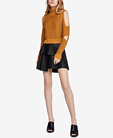 BCBGeneration Turtleneck Crop Sweater