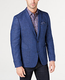 Bar III Men's Slim-Fit Solid Textured Sport Coat, Created for Macy's