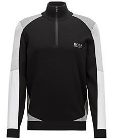 BOSS Men's Water-Repellent Colorblocked Sweater