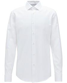BOSS Men's Slim-Fit Cotton Shirt