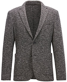 BOSS Men's Slim-fit Two-Tone Jacket