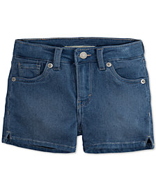 Levi's® Shorty Shorts, Toddler Girls