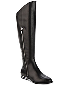 DKNY Lolita Silver-Heeled Boots, Created for Macy's