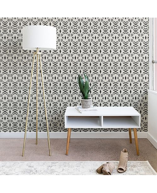Deny Designs Holli Zollinger Geo Mudcloth 2'x8' Wallpaper