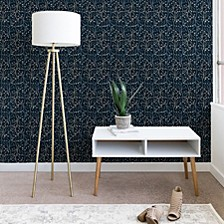 Pimlada Phuapradit Ficus Tree in Navy Blue 2'x4' Wallpaper