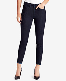 WILLIAM RAST Front-Seam Raw-Hem Jeans