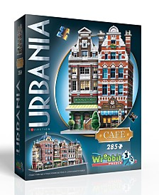 Wrebbit - Urbania Collection Cafe 385 Piece 3D Puzzle