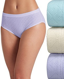 Elance Breathe Hipster Underwear 3 Pack 1540, also available in extended sizes