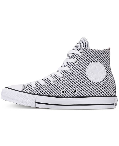 7ac29810b265 ... Converse Women s Chuck Taylor All Star Wonderland High Top Casual  Sneakers from Finish ...