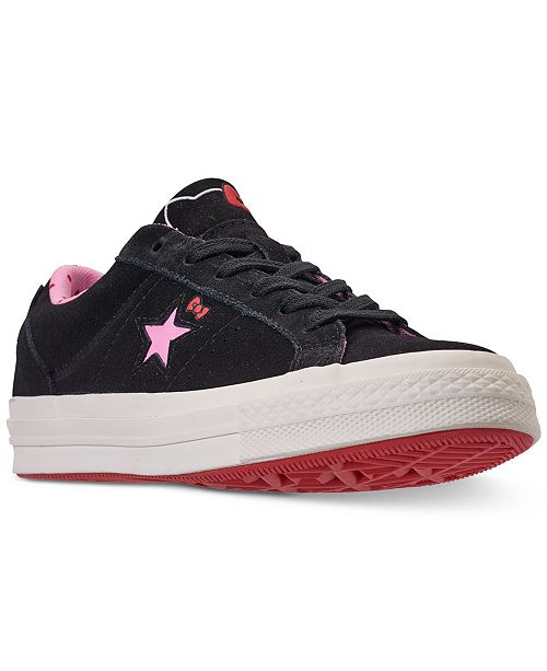 Converse Women's One Star Ox Hello Kitty Casual Sneakers