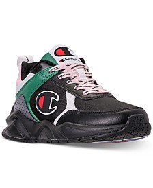 Champion Boys' 93Eighteen Block Athletic Training Sneakers from Finish Line