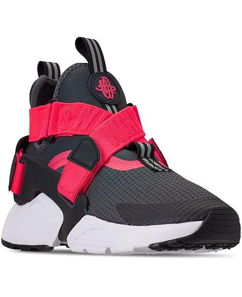 11f00c7b9 Nike Boys' Air Huarache City Casual Sneakers from Finish Line ... boys'